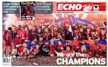 Liverpool Echo - Thursday 23rd July | PRE -ORDER